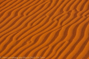 Shaybah Wavy Sand Patterns