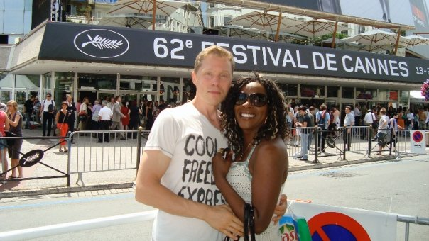 Terri and Rolle at Cannes Film Festival