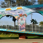 Chicano Park Mural - Walking Bridge