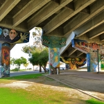 Chicano Park Mural - Freeway Overpass
