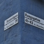 Street Signs on Kulturhuset