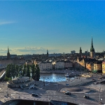 Gamla Stan in the background.