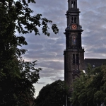 The Westerkerk at Dawn