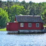 Boat House on Baltic