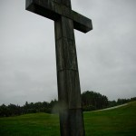 Close Up Cross at Skogskyrkogården