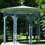 Gazebo in Humlegården