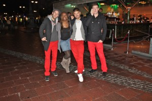 Guys in Red Pants