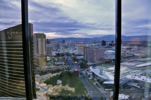 The Wynn Hotel's Room with a View