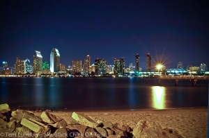 The San Diego Skyline from Coronado