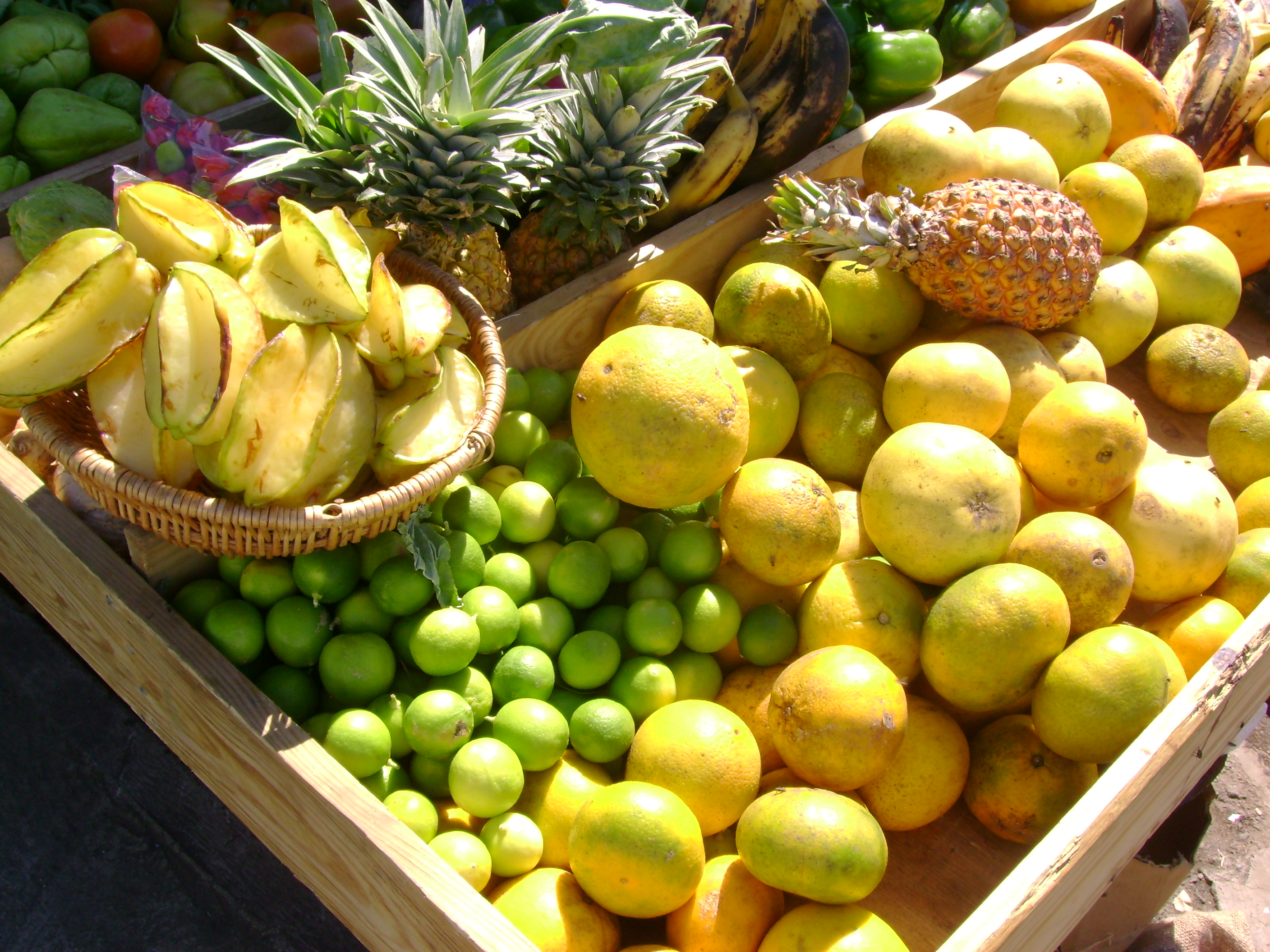 St. Kitts Fruit Stand