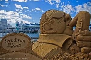 Sandman Sand Sculpture