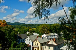 Houses and Foliage - Walkway Over The Hudson
