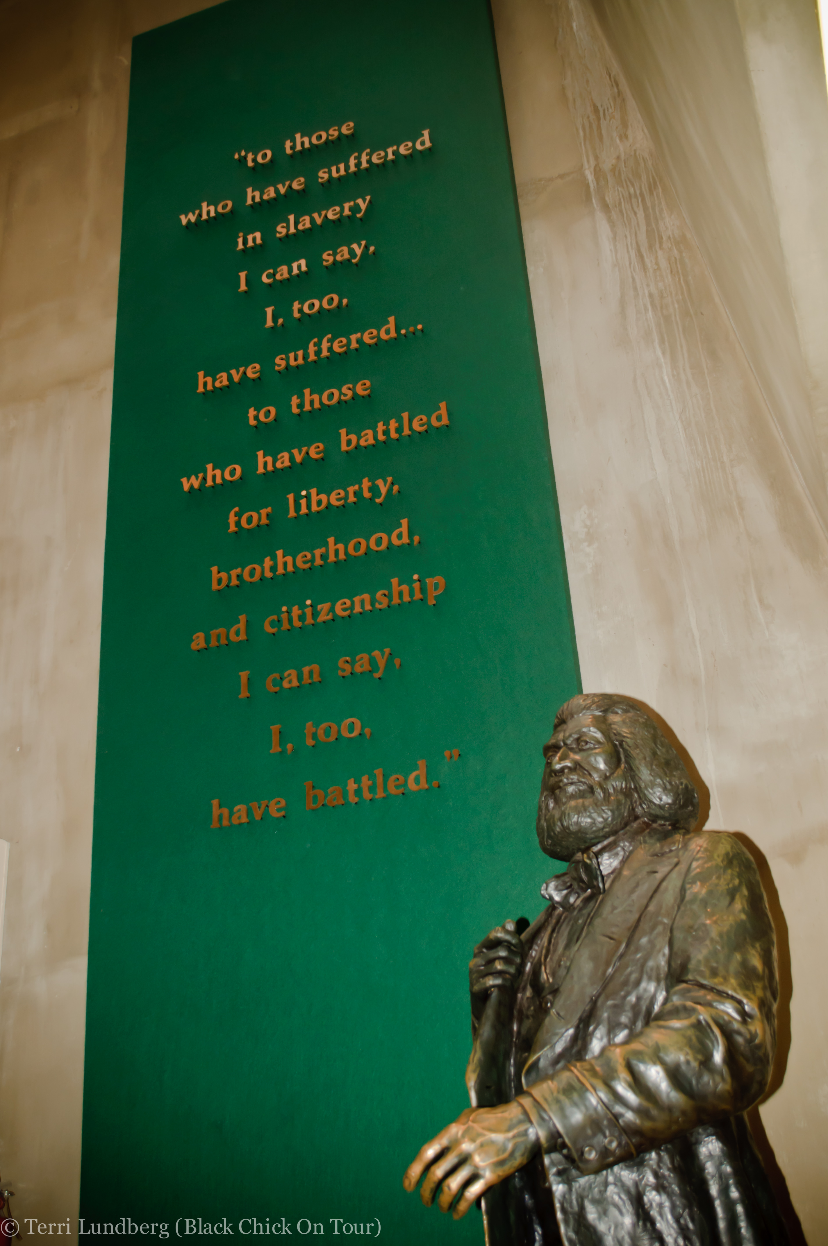 Frederick Douglass Statue PHOTO TOUR: Cedar Hill...