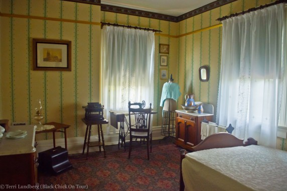 Bedroom in Frederick Douglass's House