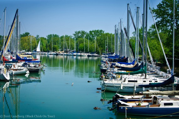 Boat Dock Algonquin Island