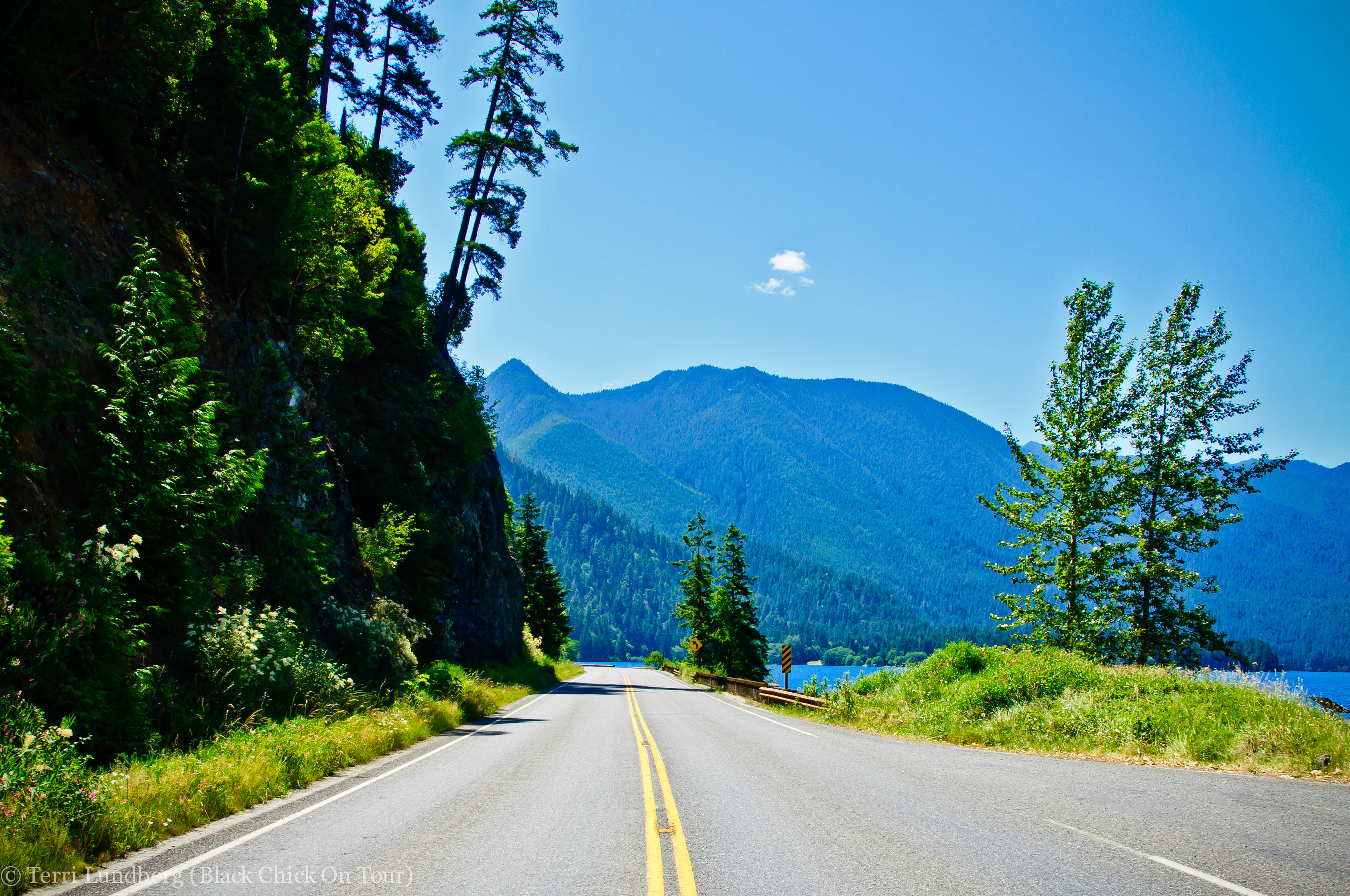 Highway 101 The Olympic Peninsula