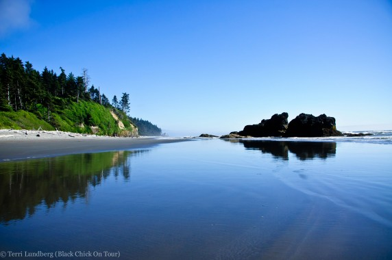 Relfections at Ruby Beach