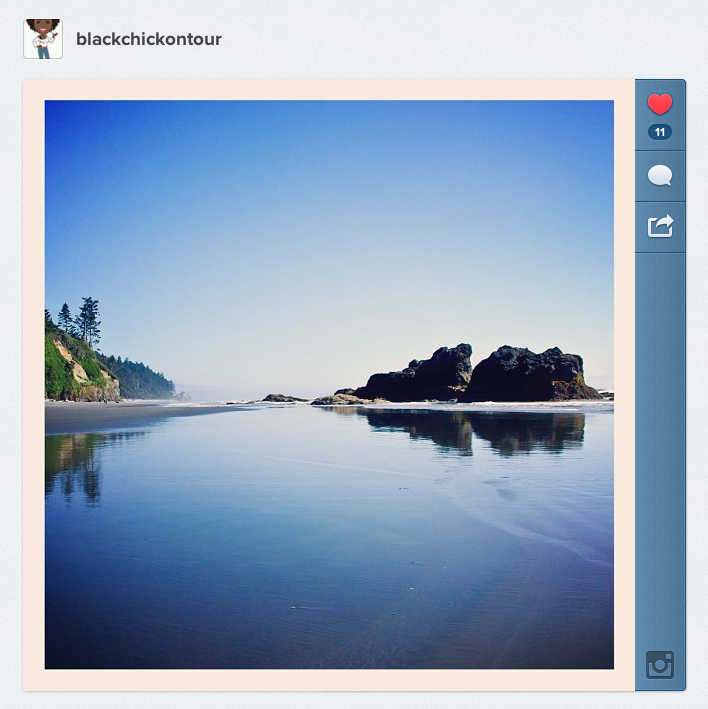 WA Road Trip Ruby Beach Instagram