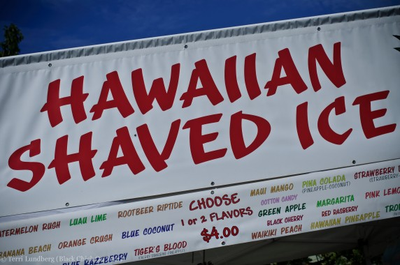 Hawaiian Shave Ice At Hemp Fest