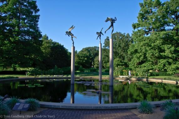 Carl Milles Sculpture Garden
