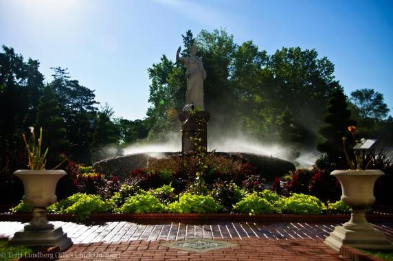 Victorian Garden Missouri Botanical Gardens