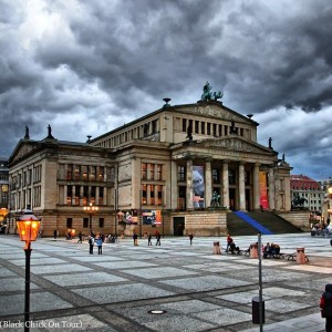 The Gendarmenmarkt in Berlin.
