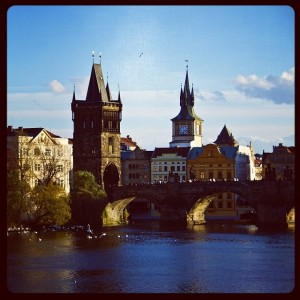 St Charles Bridge Gate