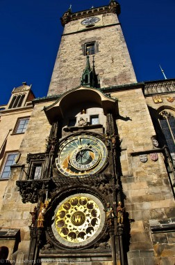 Astronomical Clock Prague Daytime
