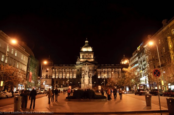 Czech National Museum in Wenceslas Square