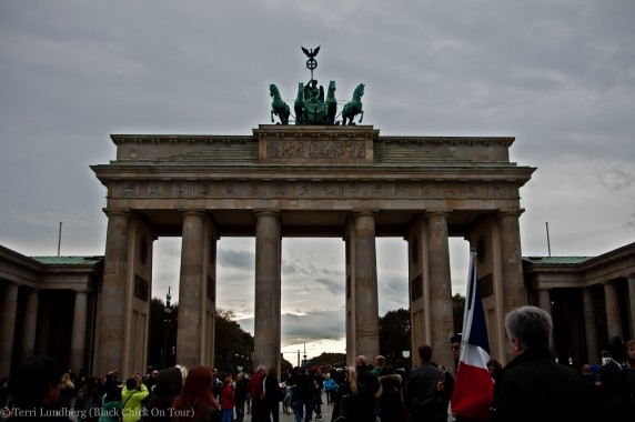 Brandenberg Gate AT Pariser Platz