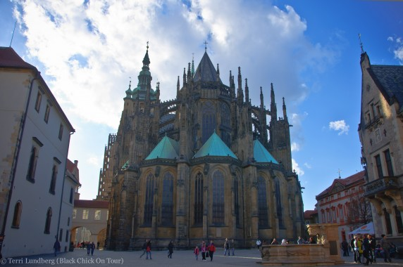 Square of St George at Prague Castle