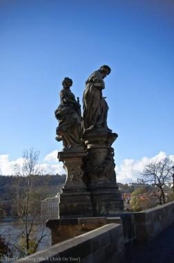 St Charles Bridge St Ivo Statue