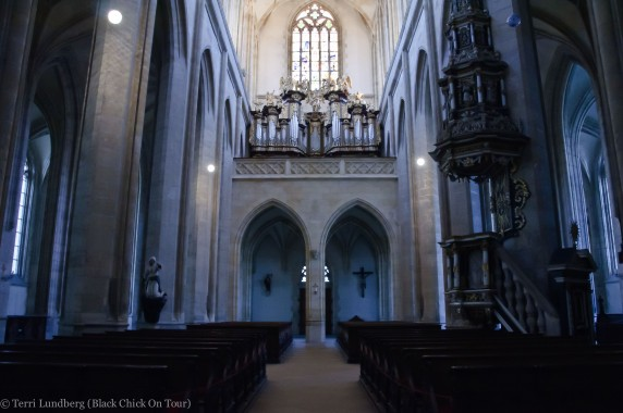 The Interior of St Barbara's Church