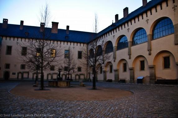 The Italian Court Interior Courtyard