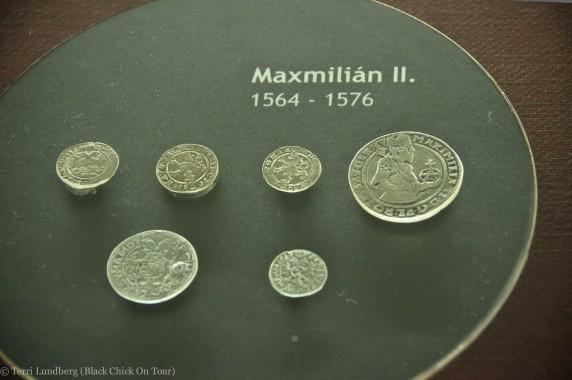 The Italian Court Silver Coins Maxmilián II