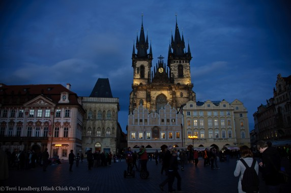 Tyn Church in Prague Old Town Square