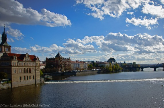 View From St Charles Bridge