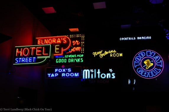 Jazz Museum Neon Signs