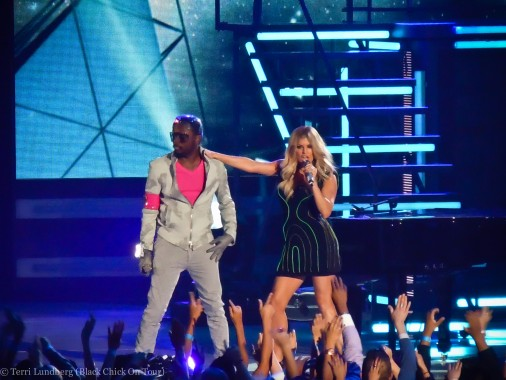 Fergie and Will.i.am at Billboard Music Awards