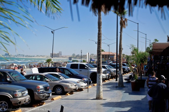 Malecon View from Taco Factory