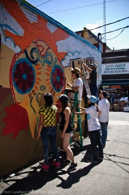 Street Artists in Kensington Market