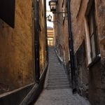 Mårten Trotzigs Gränd - The narrowest alleyway in Stockholm