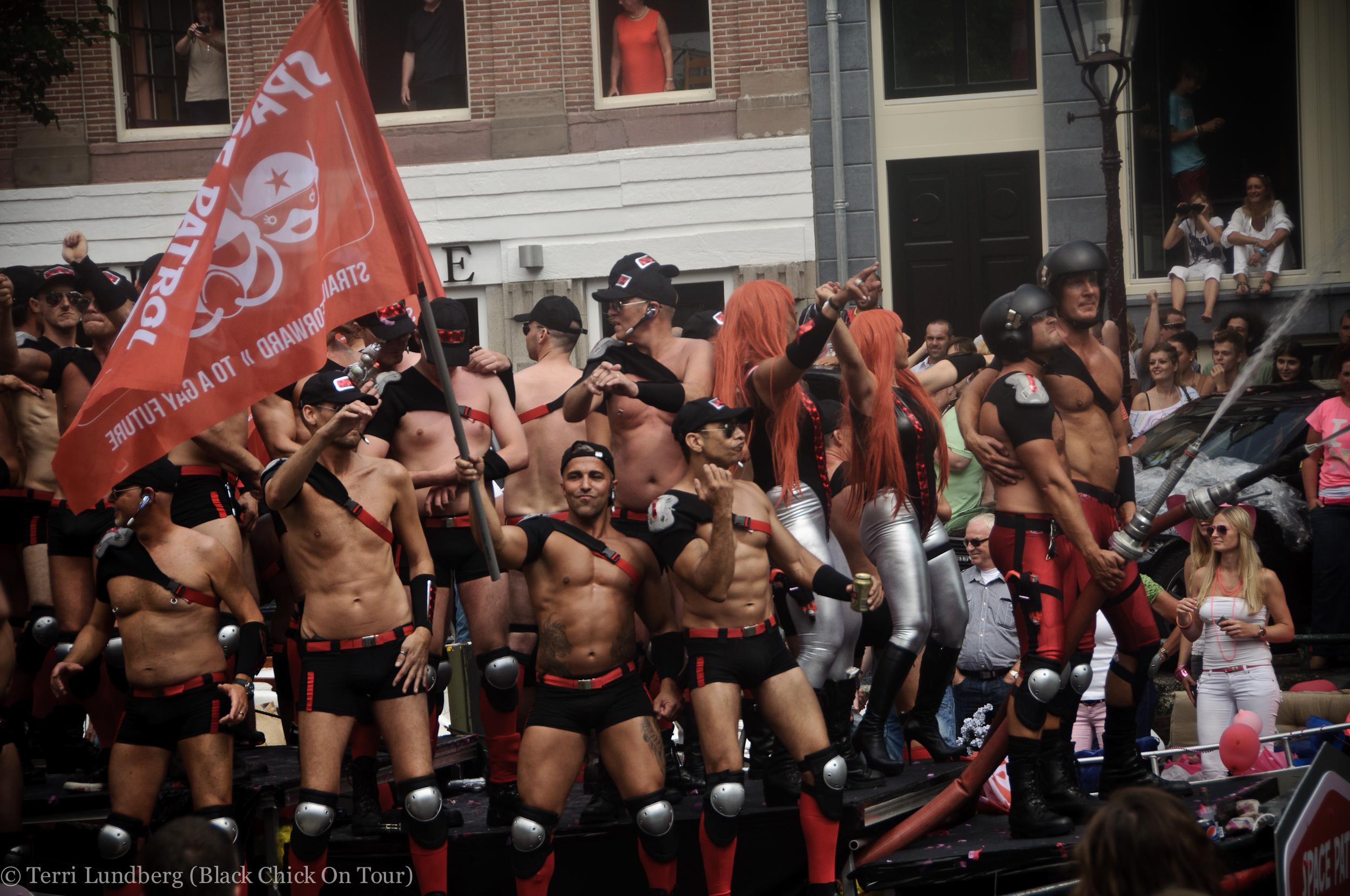 [VIDEO] Amsterdam Gay Pride Parade 2012