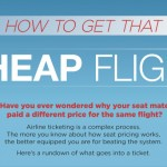 Inforgraphic: How To Get Cheap Airfare